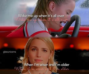 glee, Quinn, and quotes image