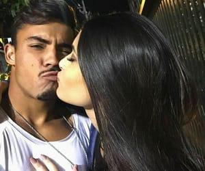 couples, kiss, and romance image