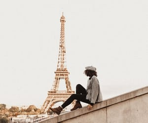 eiffel tower, france, and tumblr image