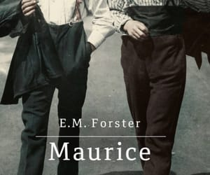 books, maurice, and e m forster image