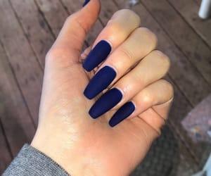 acrylics, blue, and dark image