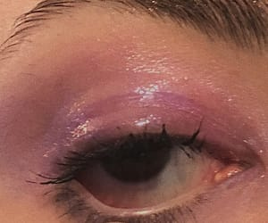 aesthetic, eyeshadow, and glossy image