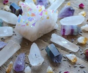 crystals and crystal points image