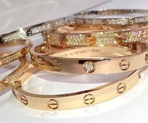 luxury, bracelet, and cartier image