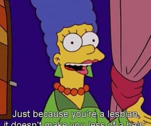 lesbian, simpsons, and the simpsons image