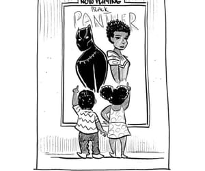 beauty, black panther, and color image