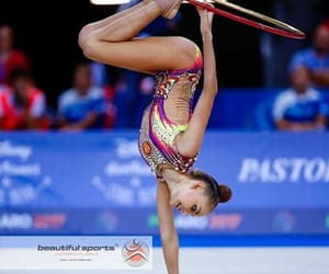 hoop, rhytmic gymnastic, and rhythmic gymnastic image