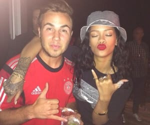 rihanna, germany, and gotze image