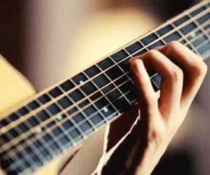 guitar, music, and gif image