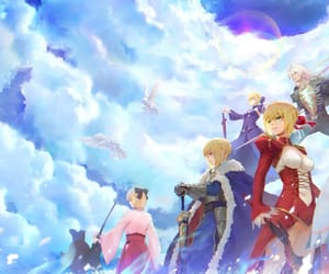 anime, art, and fate zero image
