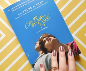 book, oliver, and call me by your name image