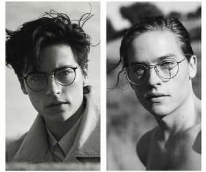 boy, cole, and glasses image