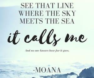 disney, moana, and ocean image