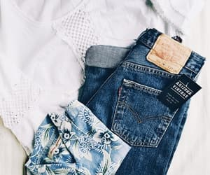 blue, jeans, and fashion image