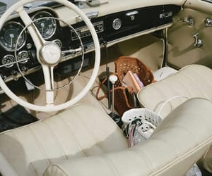aesthetic, classic, and mercedes image