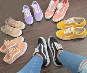 shoes, vans, and vansshoes image