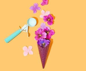 flowers, helado, and tumblr image