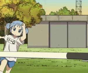 anime, nichijou, and gif image