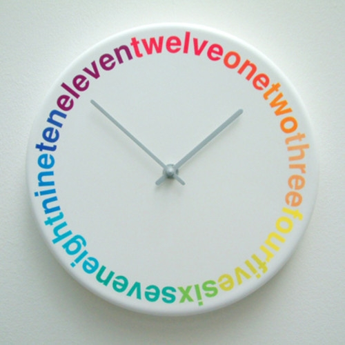 clock, color, and colorful image