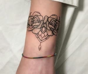 artwork, flower, and romantic image