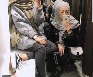 fashionable, stylish, and muslima image