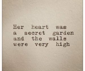 quotes, heart, and wall image