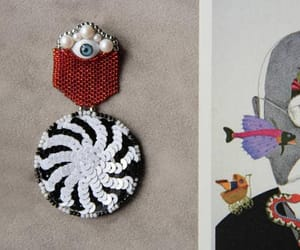 costume jewelry, evil eye, and hypnotic image