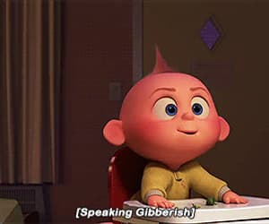 funny, the incredibles 2, and gif image