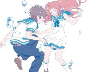 anime, nagi no asukara, and couple image