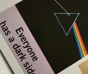 polaroid, dark side, and Pink Floyd image