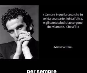 amore, massimo troisi, and love image
