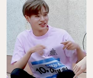 gif, wanna one, and produce 101 image