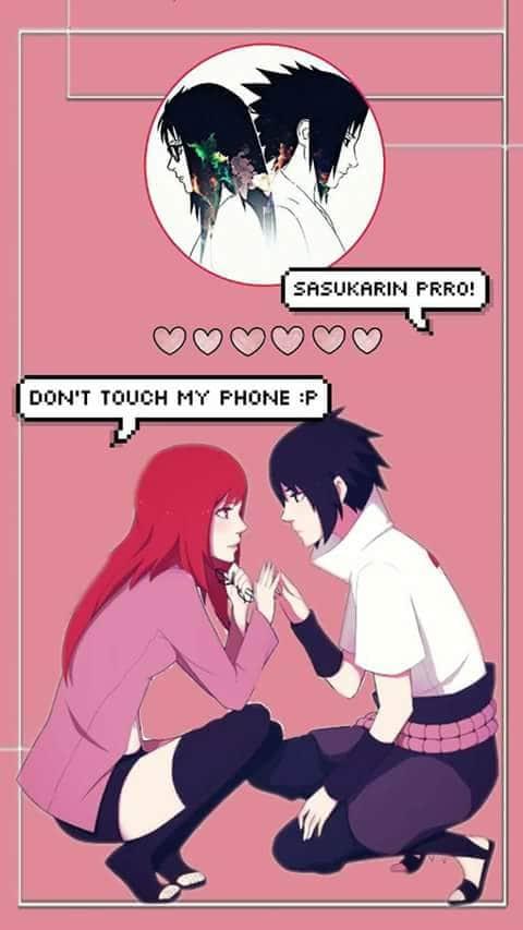 Sasukarin Shared By Sasuke And Karin On We Heart It