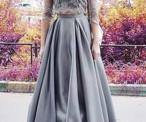 dress, prom dress, and 2 pieces image