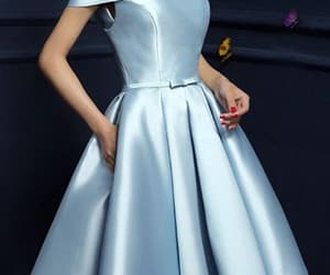 birthday dress, party dress, and homecoming dress image