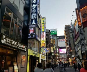 Shinjuku, travel, and japan japanese image