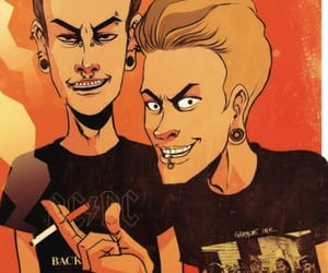 90s, aesthetic, and beavis and butthead image