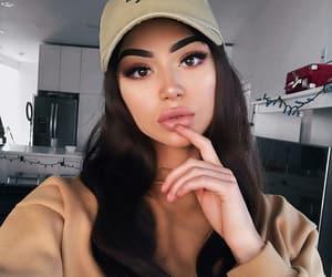 brown, brownie, and cap image