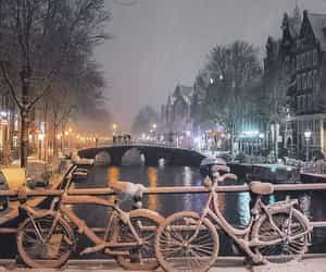 amsterdam, winter, and europe image