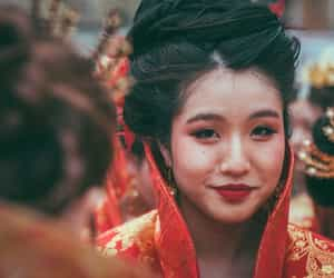 asian, woman, and beautiful image