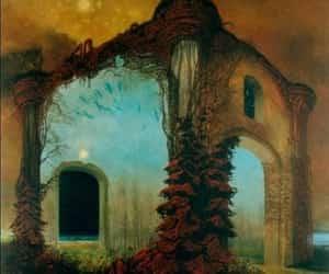 Beksinski and art image
