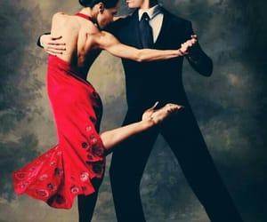 couple, style, and tango image