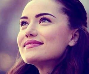 actress, Turkish, and fahriye evcen image