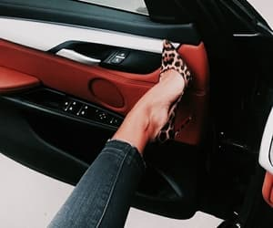 fashion, car, and heels image