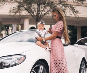 baby, dress, and pink image