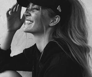 black and white and just smile image