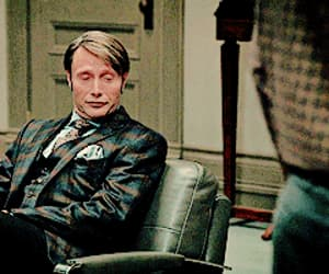 hannigram, gif, and hannibal lecter image