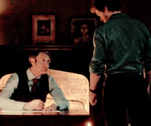 gif, hannibal lecter, and will graham image