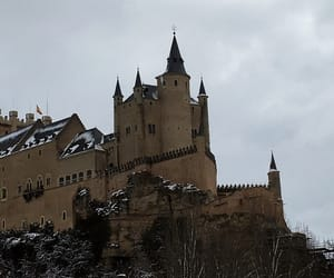 castle, spain, and spanish image
