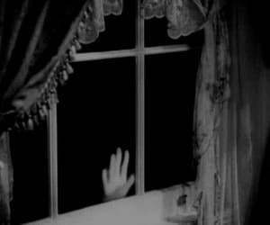 gif, black and white, and vintage image